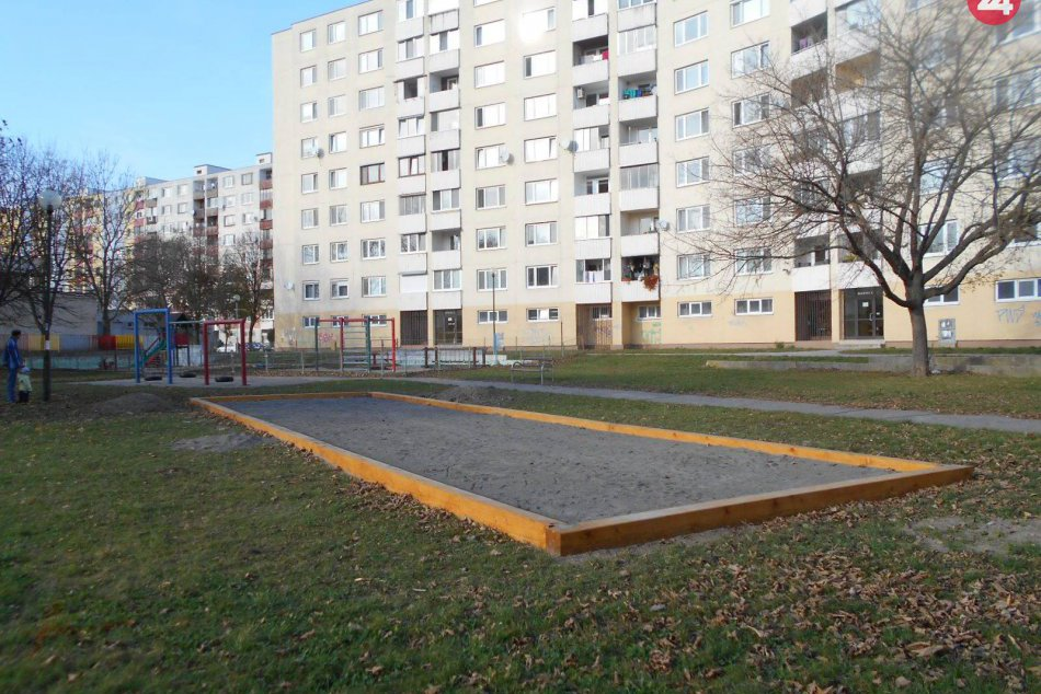 Nové petangové ihrisko v Petržalke