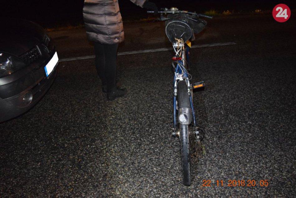 Tragédia pri Bánove: Neoznačeného cyklistu zrazili dve autá