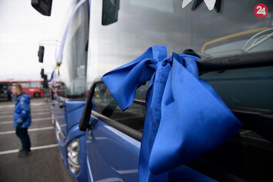 V OBRAZOCH: Autobusy novej generácie v Trenčianskom kraji