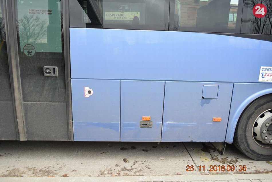 Nehoda v Trenčíne: Vodič autobusu nafúkal cez jedno promile
