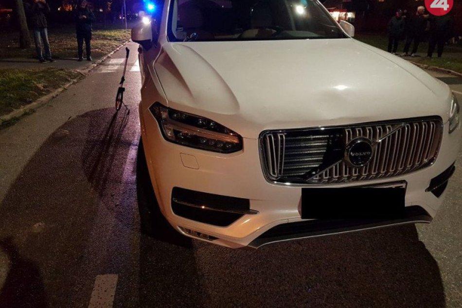 Hrozivá nehoda na priechode pre chodcov v Nových Zámkoch