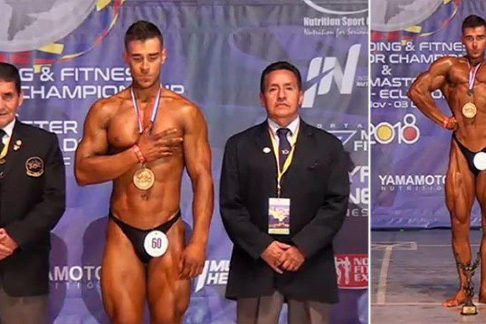 Mladí Trenčania na juniorskom šampionáte v kulturistike a fitness v Ekvádore