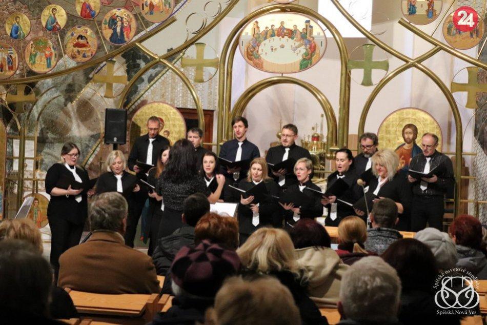 Fotogaléria: V Spišskej sa predviedli rôzne spevácke zbory
