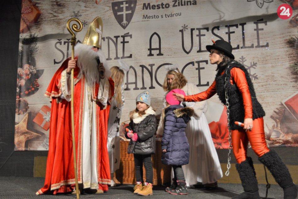 OBRAZOM: Predvečer sv. Mikuláša v Žiline