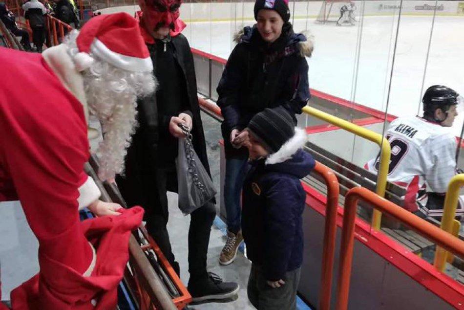 OBRAZOM: Trojka, ktorá zaujala všetky deti na zimnom štadióne v Trnave