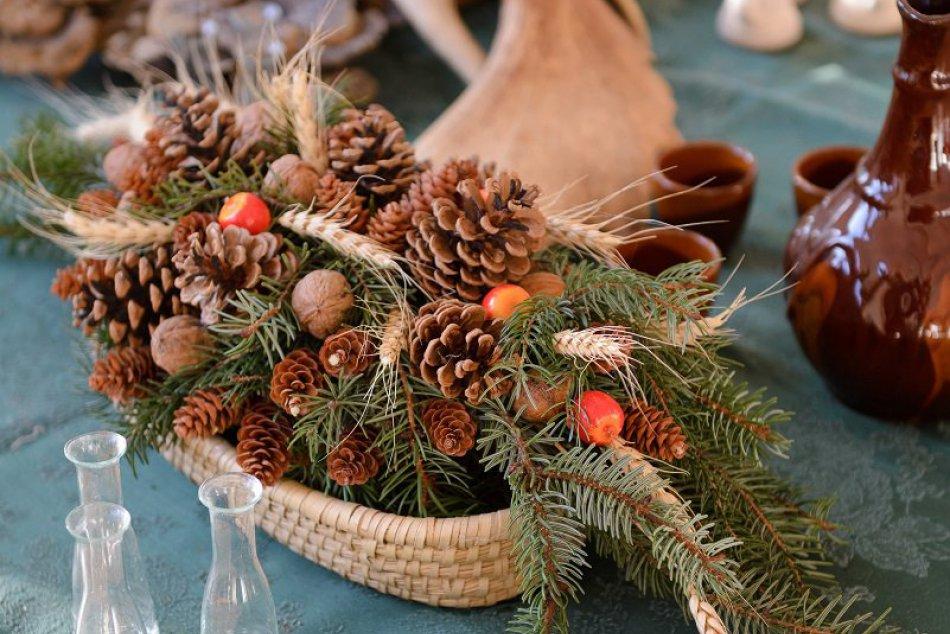Inšpirujte sa: Vianočné dekorácie z Botanickej záhrady v Nitre, FOTO