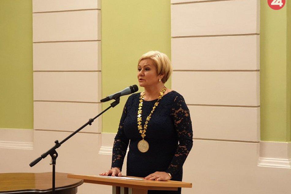 Zasadnutie nového mestského zastupiteľstva v Lučenci