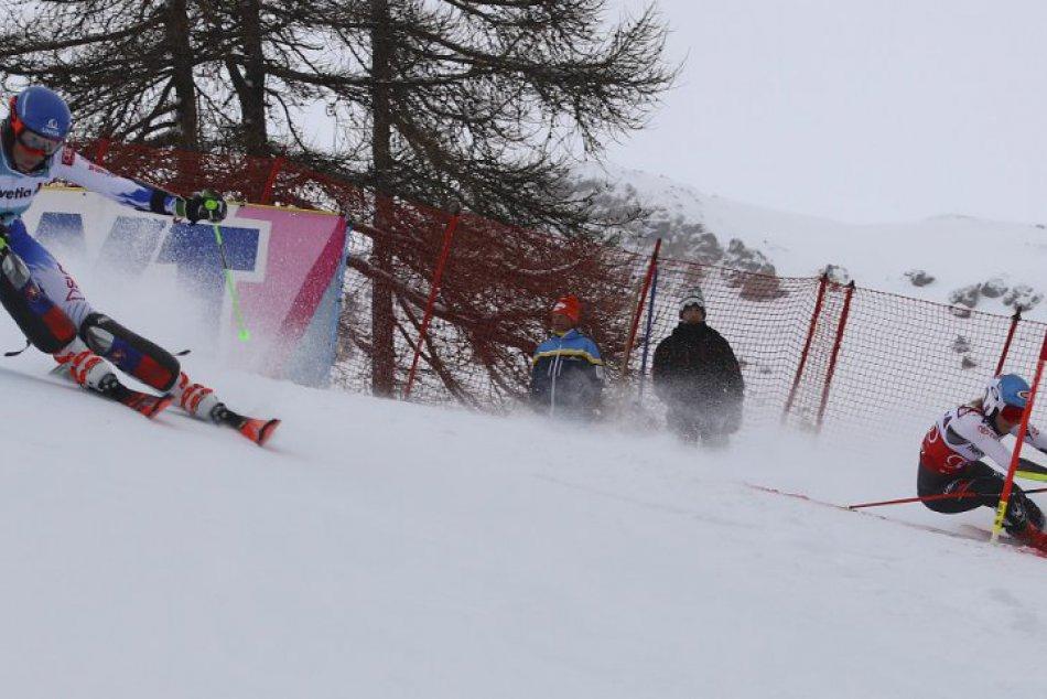 FOTO: Paralelný slalom v St. Moritzi priniesol skvelé druhé miesto Petry Vlhovej