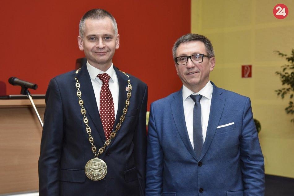 Novozvolený starosta mestskej časti Bratislava Ružinov Martin Chren