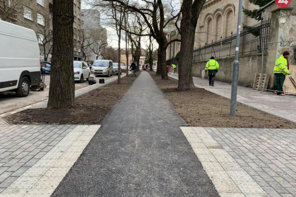 Rekonštrukcia Blumentálskej ulice