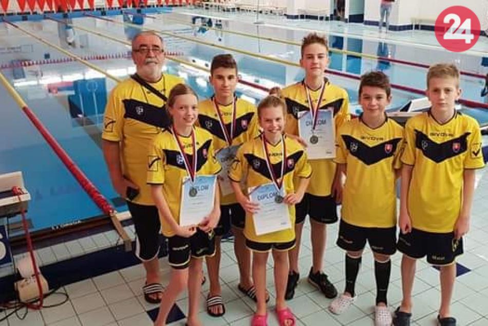 OBRAZOM: Plavci PK Chemes Humenné bodovali na Majstrovstvách SR
