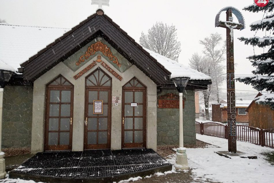 OBRAZOM: Slovenský betlehem v Rajeckej Lesnej