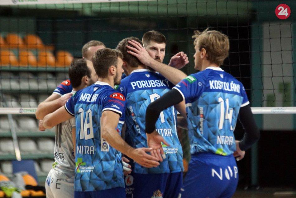 Nitrianski volejbalisti pokračujú na víťaznej vlne: Zdolali aj Trenčín, FOTO