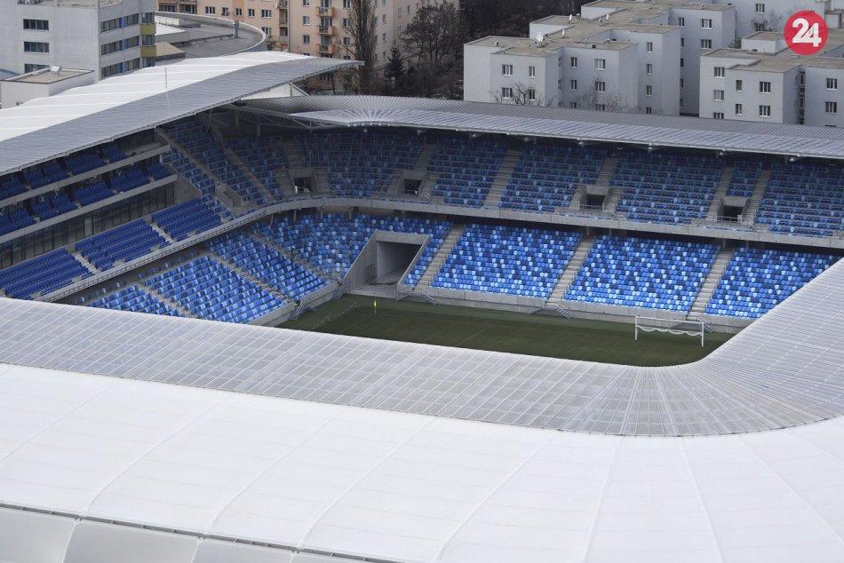 Národný futbalový štadión je dokončený
