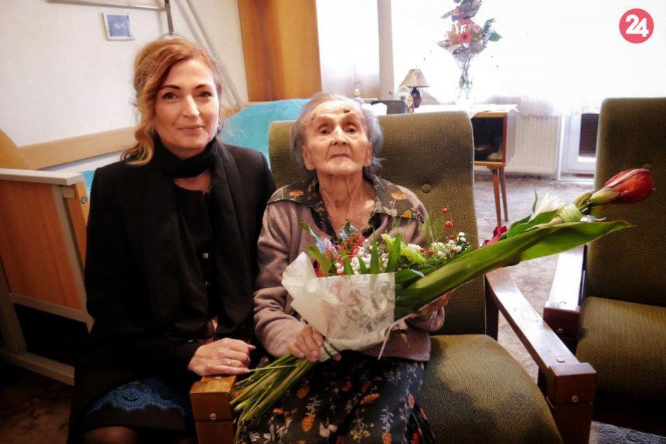 Zachytené obrazom: Najstaršia Prešovčanka oslavovala 104 rokov