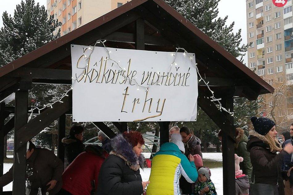 FOTOOBJEKTÍVOM: Takéto trhy zažili deti v jednej zo škôlok v Spišskej