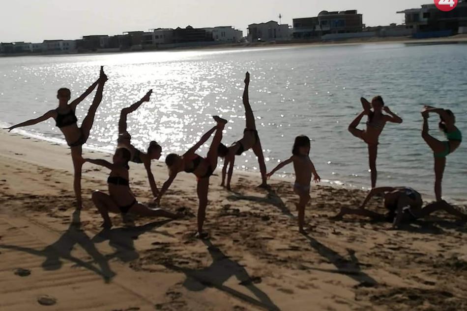 Bardejovské gymnastky s veľkým úspechom zo súťaže v Dubaji