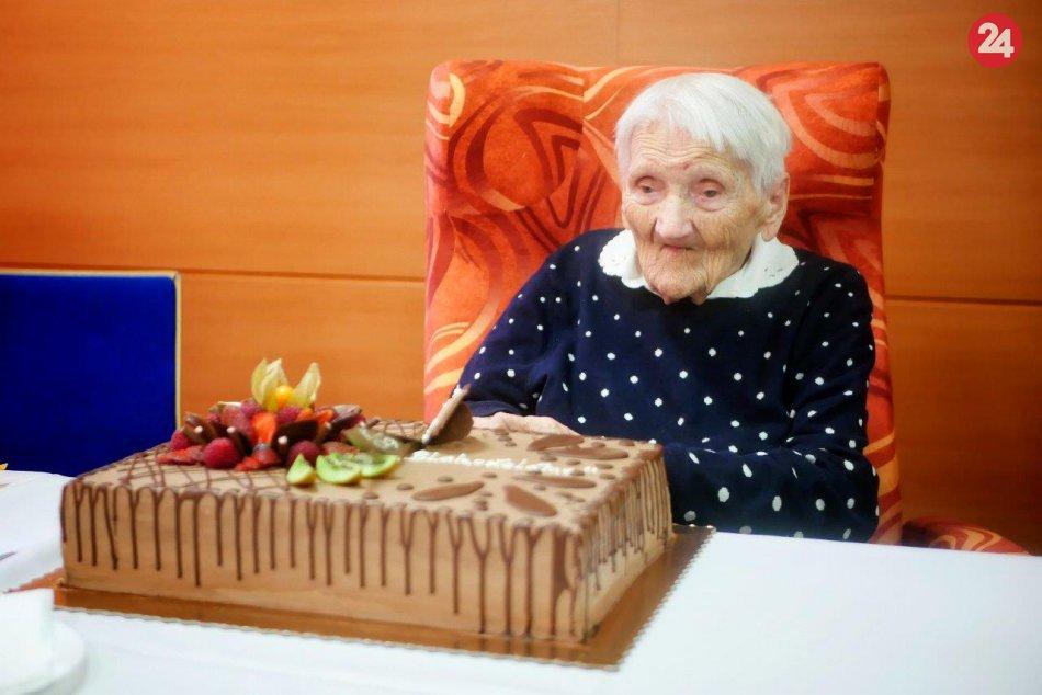 V OBRAZOCH: Mária z Prešova oslávila svoje storočné jubileum