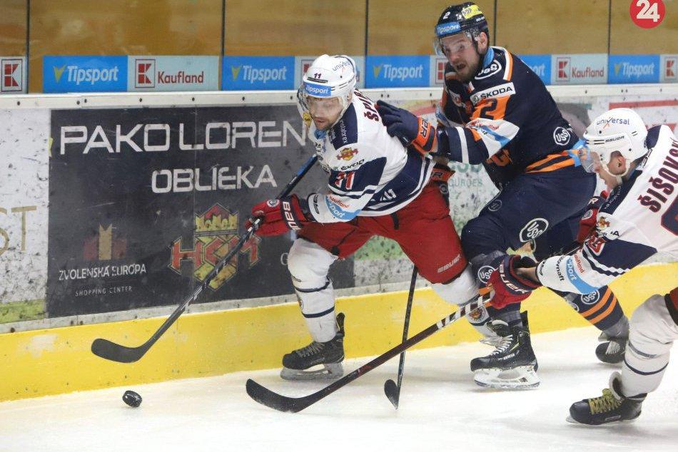 HKM Zvolen - HC Košice 2:1 v 34. kole