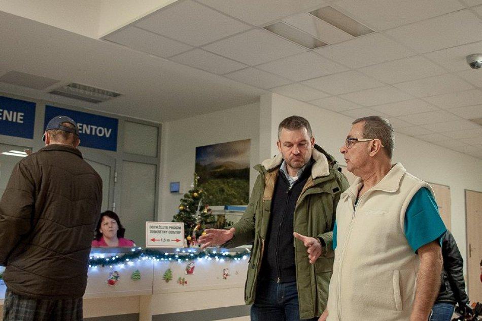 Premiér Pellegrini: Obnova bystrickej nemocnice má presiahnuť 100 miliónov eur