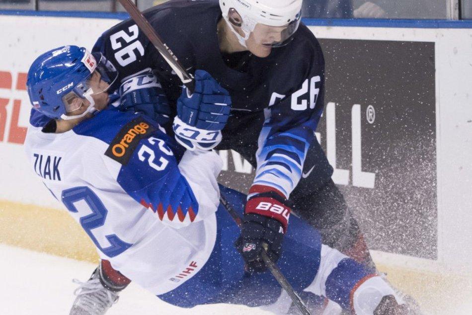 USA – Slovensko 2:1 (0:0, 0:1, 2:0)