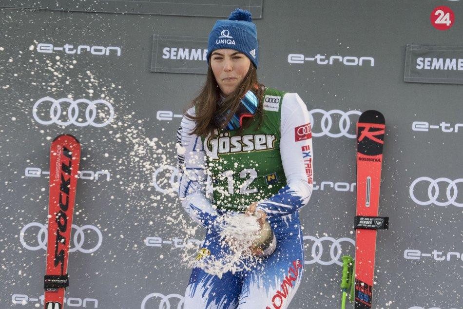 FOTO: Vlhová senzačne triumfovala v obrovskom slalome v rakúskom Semmeringu