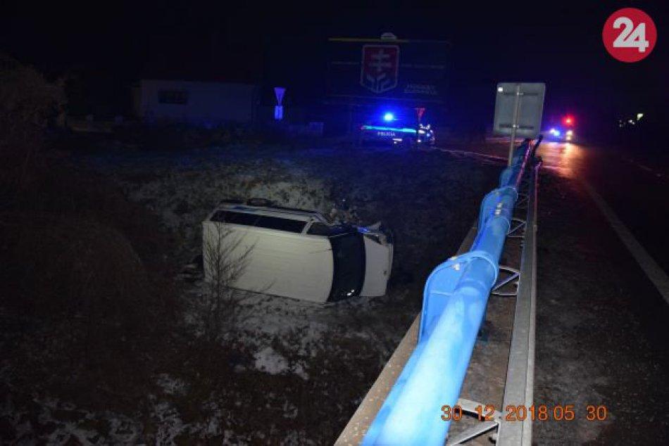 Ďalšia nehoda pri Čoltove: Policajné zábery z nehody