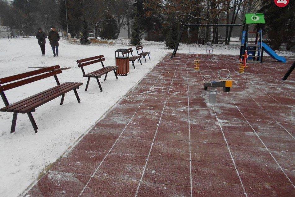 Pozrite si ho v obrazoch: V Prešove vyrástlo nové detské ihrisko