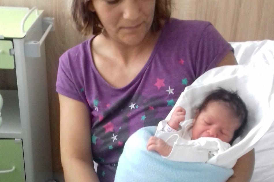 OBRAZOM: Prvé na svet v novom roku v Michalovciach prišlo toto dievčatko!
