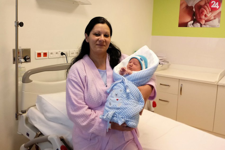 Prvým dieťatkom roka 2019 v Humennom sa stal malý Štefan: Toto je on