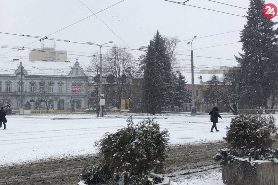 Sneh v Košiciach