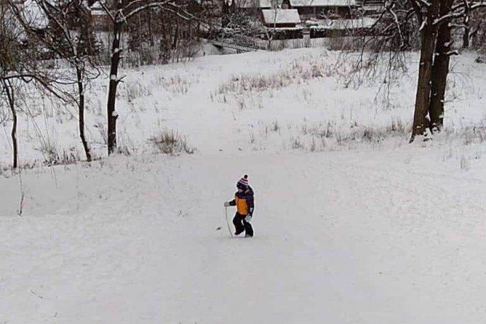 FOTO: Snehová nádielka na Liptove