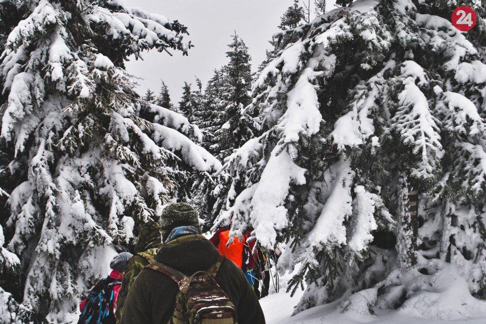 Obrazom: Novoročný výstup na Volovec 2019