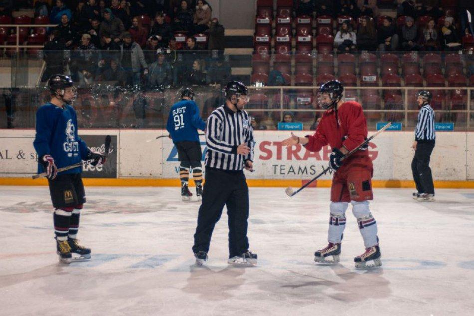 V OBRAZOCH: Hokej GAS vs. Taják 2018