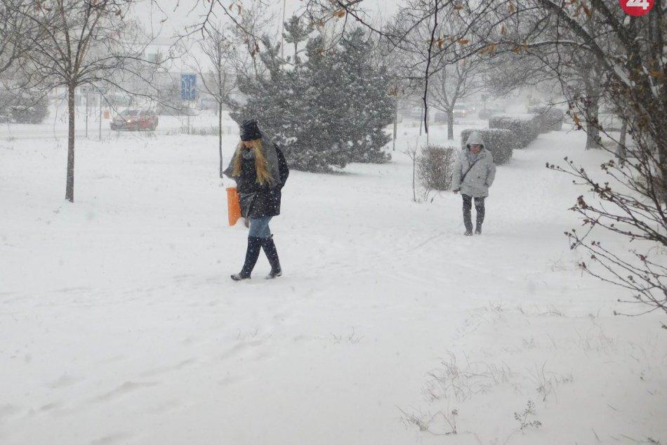 FOTO: Pozrite si známe trnavské miesta pod snehovou prikrývkou