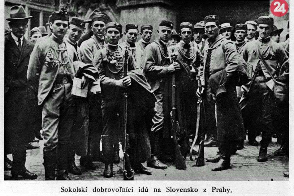 Obsadenie Nových Zámkov Československou armádou v roku 1919