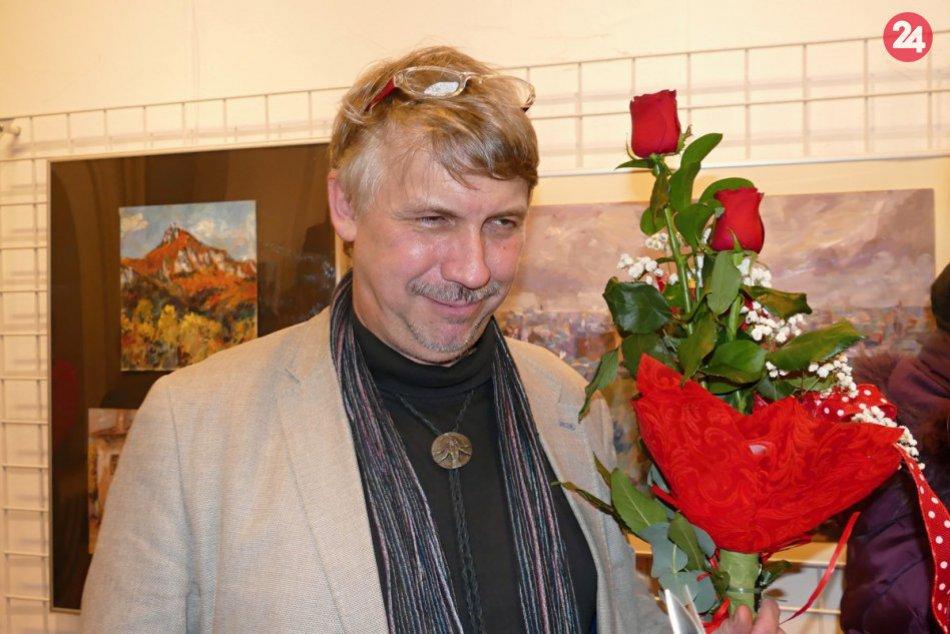 Jubilejná výstava akad. maliara Stana Lajdu: Nájdete na nej 80 krajinomalieb