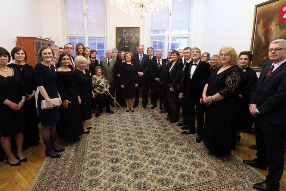 Prezident Andrej Kiska udelil štátne vyznamenania