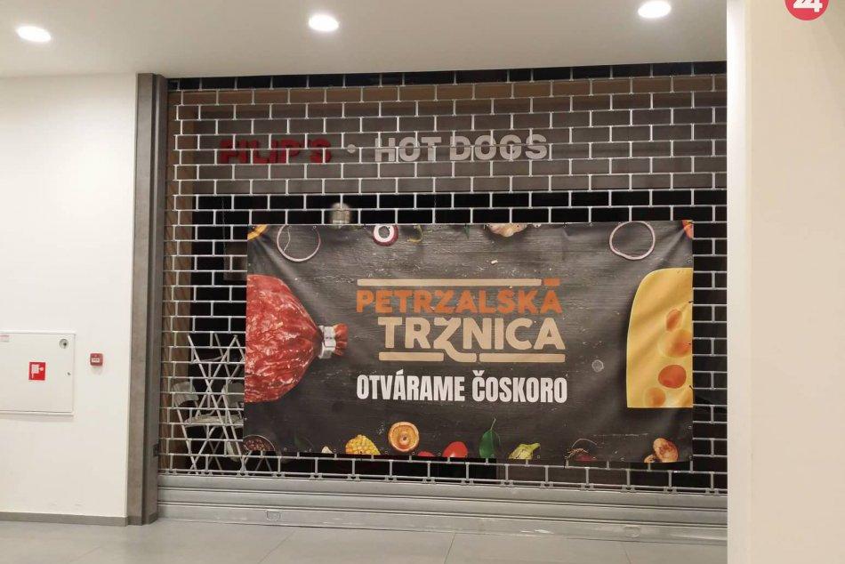 Petržalská tržnica (zatvorené gastroprevádzky)