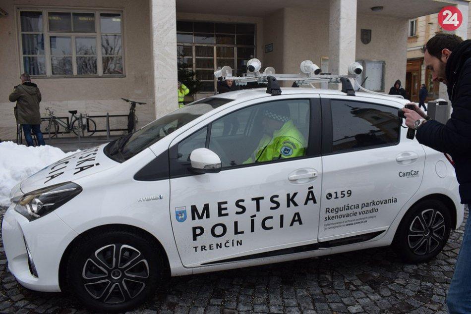 V Trenčíne predstavili inteligentné monitorovacie vozidlo CamCar