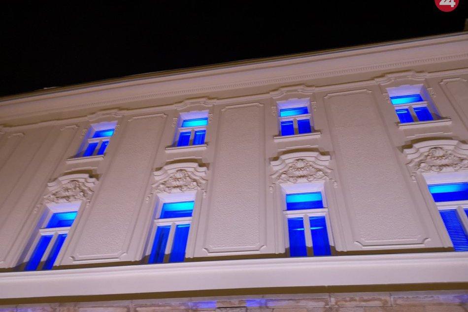 OBRAZOM: Divadlo Jána Palárika v Trnave počas svetelnej šou