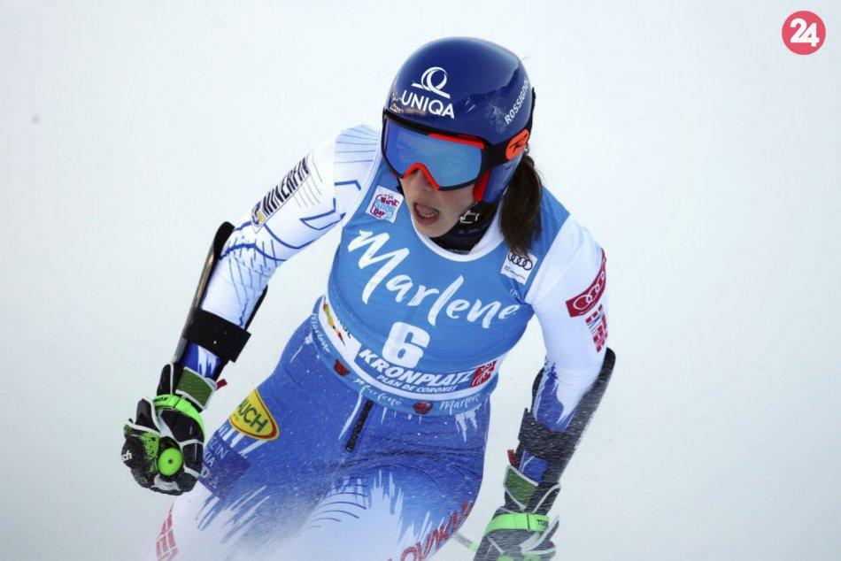 V OBRAZOCH: Druhé kolo obrovského slalomu v Kronplatzi