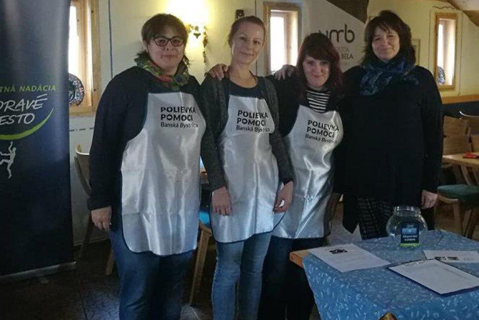 V OBRAZOCH: Januárová Polievka pomoci v Bystrici bola opäť úspešná