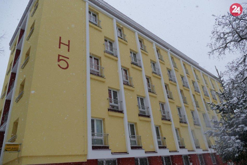 Žilinská univerzita predstavila zrekonštruovaný internát na Hlinách V