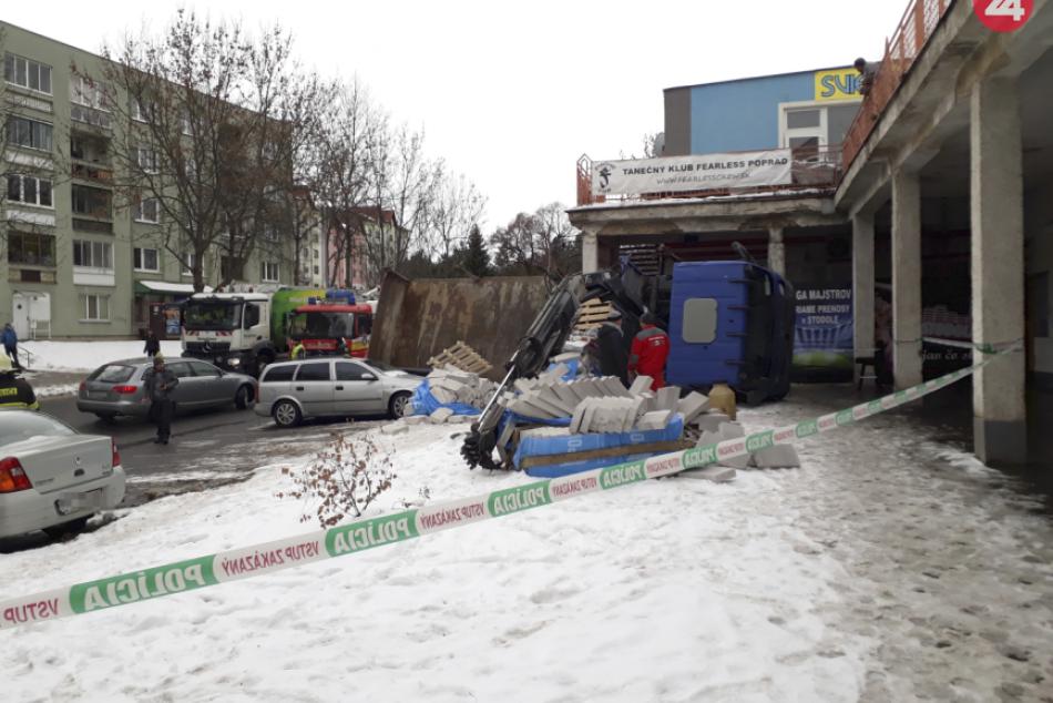 Kuriózna nehoda v Poprade