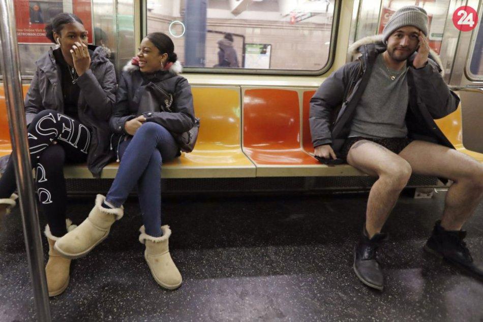 Metro bez nohavíc