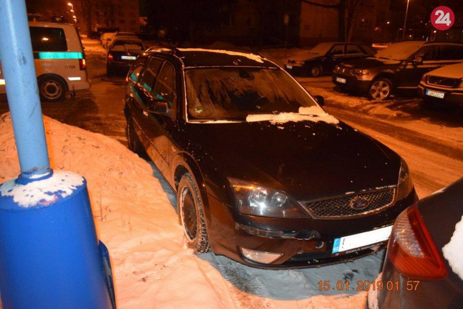 Opitá vodička narazila do dopravnej značky: Hana (24) z Česka nafúkala 2,58 prom