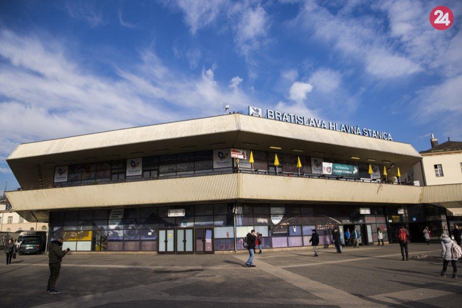 Hlavná železničná stanica v Bratislave