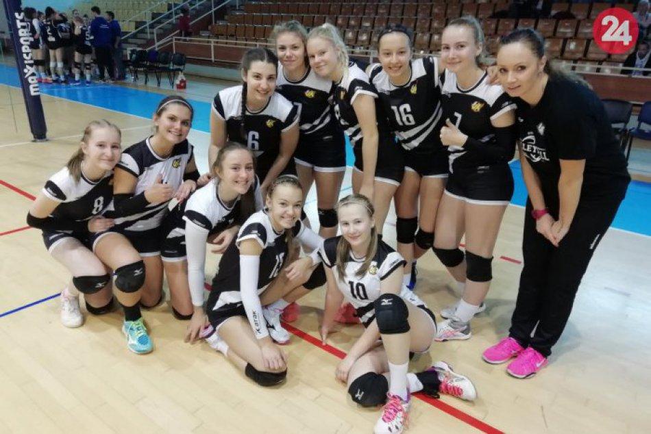 Mladé volejbalistky absolvovali počas víkendu ďalšie zápasy