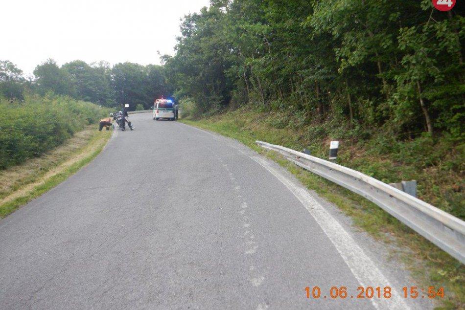 V OBRAZOCH: Polícia hľadá svedkov dopravnej nehody v katastri obce Ostrá Lúka
